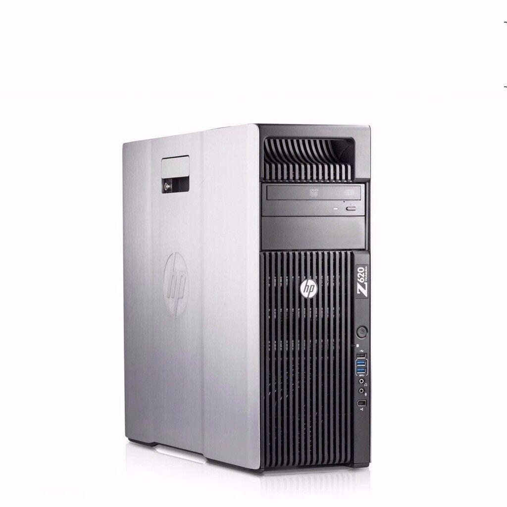 HP Z620 V2 Workstation, 2x Xeon E5-2660v2, 20 Cores 40 Threads, 96GB RAM , 256GB Samsung 840 PRO SSD