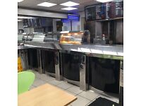 Fish and chips counter range