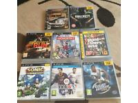 PlayStation 3 slim black 120g with accessories