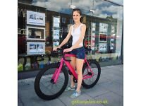 SUPER NICE Aluminium Alloy Frame Single speed road TRACK bike fixed gear racing fixie bicycle CE