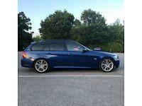 BMW 330I M SPORT 2008 LE MANS BLUE