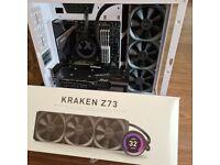 NZXT Kraken Z73 360MM LCD AIO CPU Water Cooler