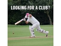 Cricket - Headingley Bramhope are recruiting