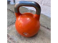 POWRX 28kg competition Kettlebell Weights.