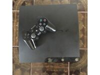 PS3 slim with GTA 5, all leads, 1 controller.