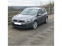 VOLKSWAGEN GOLF 2.0 GT TDI 140*HPI CLEAR*FSH*12MONTH MOT*CRUISE*UPGRADED ALLOYS* PX/SWAP