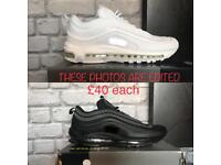 Nike Airmax 97 - Black or White available