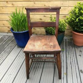 Vintage Chapel Chair - perfect upcycle
