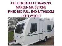 2013 light weight fixedbed Bailey orion 430/4 berth caravan Maidstone Kent