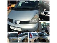 Renault Espace Express DCI MPV 2.2 2004 Grey Manual Diesel bonnet all parts available
