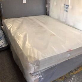 ☀️💚☀️STRONG AND STYLISH☀️💚☀️SINGLE / DOUBLE / KING SIZE DIVAN BED WITH ORTHOPEDIC MATTRESSES