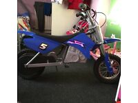Kids 24v electric motorbike