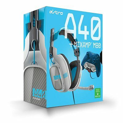 Astro Gaming A40 Wired Stereo Gaming Headset + Mixamp M80 for Xbox One UD (READ) for sale  Eau Claire