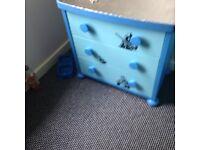 IKEA blue kids bedroom set