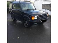 Land Rover discovery 2 Td5 black terrafirma defender