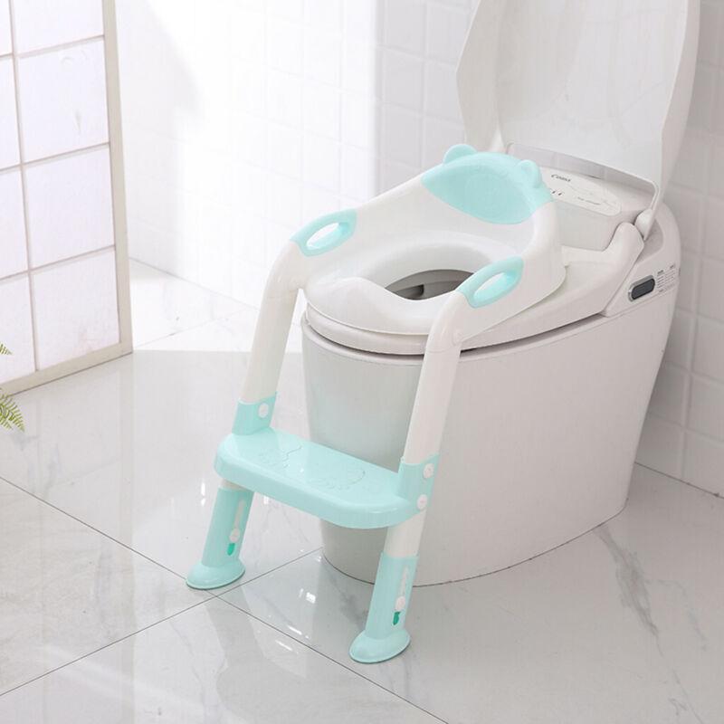Potty Training Toddler Toilet Step Stool Ladder,For Kids Girls US