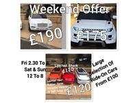 Range Rover Style £120,Range Rover HSE £175,Bentley £190 Ride-On Cars