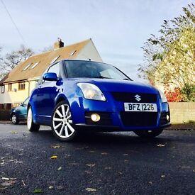 Suzuki swift sport 1.6 in RARE blue. 124bhp