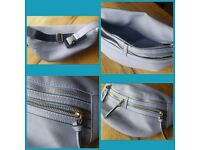 *New* waist bag- great size! Dusky blue/purple