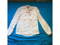 beautiful shirt Forever21, size S, nude color