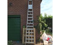 High level steps, metals and insulation for sale