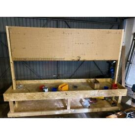 Tool board on casters
