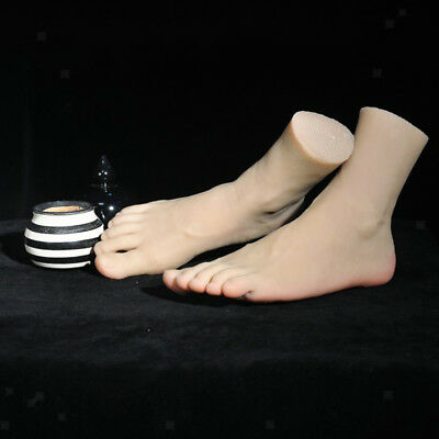 Realistic Male Foot Mannequin Feet Model For Display Shoes Massage Training