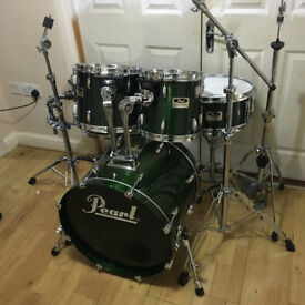 Fully Refurbished Pearl Session Drum Kit