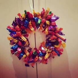 Christmas Sweetie wreath