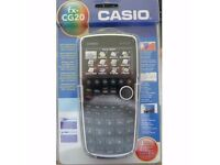 New unused a Unwanted Gift. Casio FX-CG20 Advanced full colour Graphic Calculator.