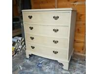 Vintage shabby chic drawers