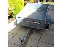TRAILER ERDE 132 FULLY GALVANISED 4' x 3' – EXCELLENT CONDITION