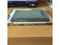 3 Minecraft books-Annual 2014, Mastering Minecraft and Construction Handboo