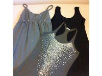 Over 20 Pieces Women Clothes Size 8 XS Vests Dresses Trousers M&S Top Shop Next Dorothy Perkins