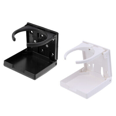 Pack of 2 Folding Nylon Marine Boat Car Caravan Drink Can Cup Holder Stand