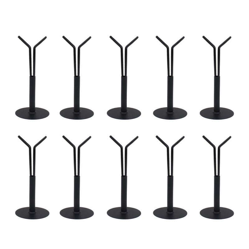 10Pcs 1:6 Metal Display Stand Base for 12