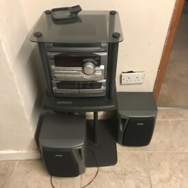 very cheap music system
