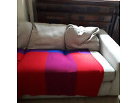 Second hand sofa and memory foam matress for sale. Good condition