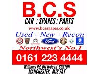 B.C.S CAR SPARES ...... 0161 223 4444 ...or ... RING / TEXT/ What App .... 07775425853