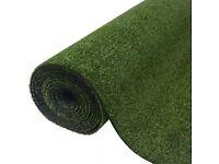 Artificial Grass 1x15 m/7-9 mm Green-42395