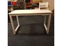 White laminate Home office Desk