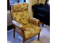 Lovely comfortable arm chair for sale