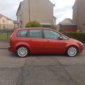 Red Ford C-Max, low price for fast sale!
