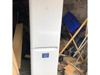 Indesit frost free fridge freezer. Almost 6ft tall. Excellent cond. can drop off free if local