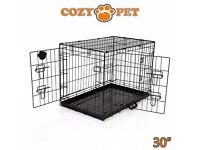 """30"""" dog crate in perfect condition - pick up from N1"""