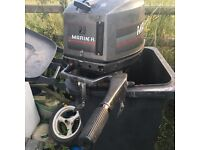 40hp Mariner 2 stroke s/shaft outboard/boat engine..£300 Ono Downpatrick
