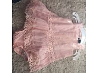 Baby girls dress size 0-3 months perfect condition as only wore once from gap
