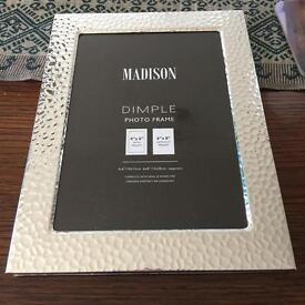 """3 x photo frames 4"""" by 6"""" using mount or 6""""by 8"""" without"""