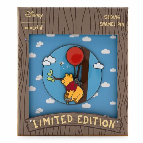 Winnie the Pooh I Have a Rumbly in my Tumbly Loungefly LE 1200 Slider Disney Pin