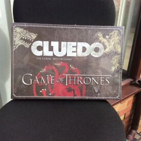 """BRAND NEW """"GAME OF THRONES"""" cluedo board game"""